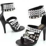 Taslı Yuksek Topuklu Ayakkabı Modellerı