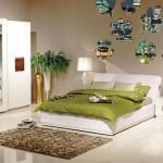 Zebrano Beyaz Yatak Odası Modeli 150x150 Zebrano Yatak Odası Takımları Modelleri