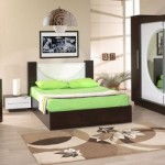 Zebrano Yuvarlak Aynali Yatak Odasi 150x150 Zebrano Yatak Odası Takımları Modelleri