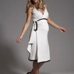 hamilelik bayan elbise modeli