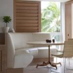 modern kose mutfak koltuk modeli