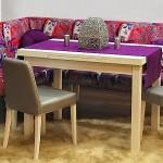 renkli yeni model mutfak kose koltuk modeli