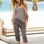 2012 yeni bayan keten pantolon modelleri