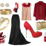 birbirinden farkli modern elbise kombin modelleri