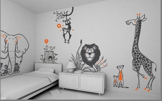 Как раскрасить стену своими руками 124