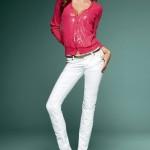 dar paca beyaz keten pantolon modelleri