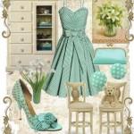 farkli ve modern elbise kombin ornek modeli