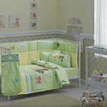 linens yesil bebek uyku seti modelleri