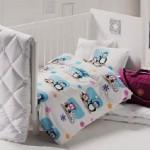 penguen desenli linens uyku setleri