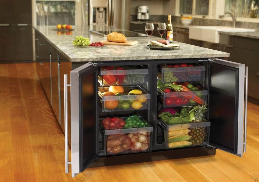 Kullanşlı tezgah altı buzdolabı dizayn