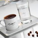 ataturk seklinde modern kahve fincan