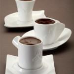 beyaz modern kahve fincan modelleri