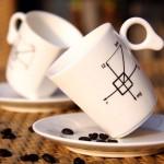 cok guzel modern kahve fincan tasarimlari