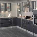 gri modern mutfak dekorayon modelleri