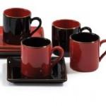 kirmizi kahve fincan modelleri