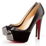 kirmizi taban yuksek topuklu ayakkabi modelleri