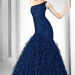 mavi balik elbise modelleri