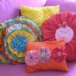 renkli dekoratif yastik modelleri