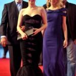 siyah modern balik elbise modelleri