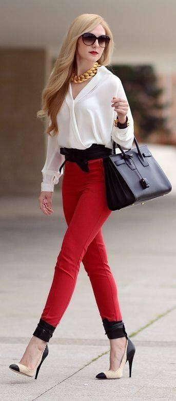 Modern gömlek pantolon dizayn