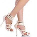 pembe rugan abiye ayakkabi modelleri