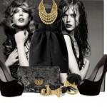 siyah bayan kiyafet modelleri
