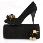 siyah cok guzel abiye ayakkabi ornek modelleri