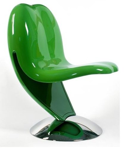 yesil ilginc sandalye modeli