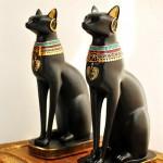 kedi seklinde dekoratif biblo tasarimlari