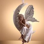 melek seklinde dekoratif biblo ornek modelleri