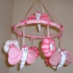 pembe bebek odasi susleme ornekleri