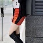 2013 siyah deri bayan cizme modelleri