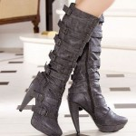 gri 2013 modern cizme modelleri