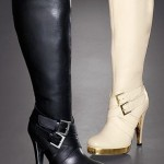 iki renk 2013 topuklu bayan cizme modelleri