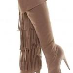 modern yuksek topuklu bayan cizme modelleri