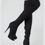 yuksek topuklu modern bayan cizme modelleri