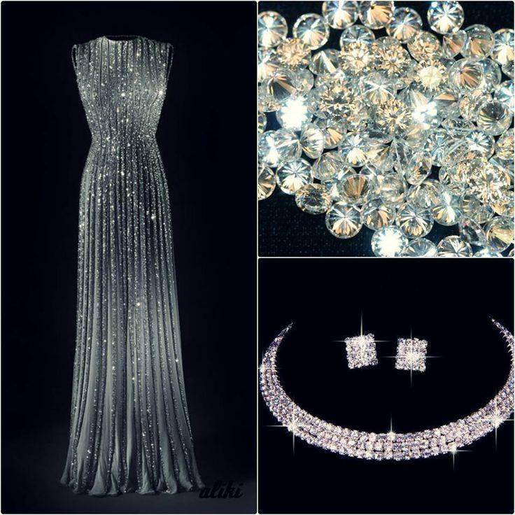 ışıltılı abiye elbise tasarımı