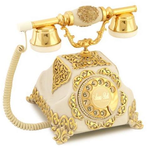 Altın Gümüş Varaklı Telefon Modelleri