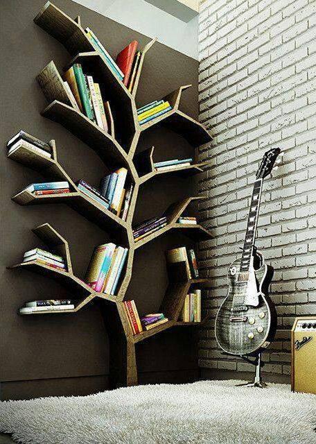 Duvar Destekli Kitaplık