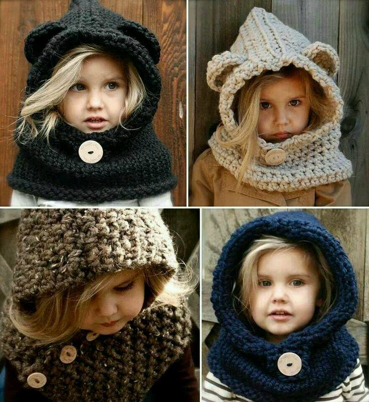 Kız Çocuk Şapka Ve Bere Modelleri