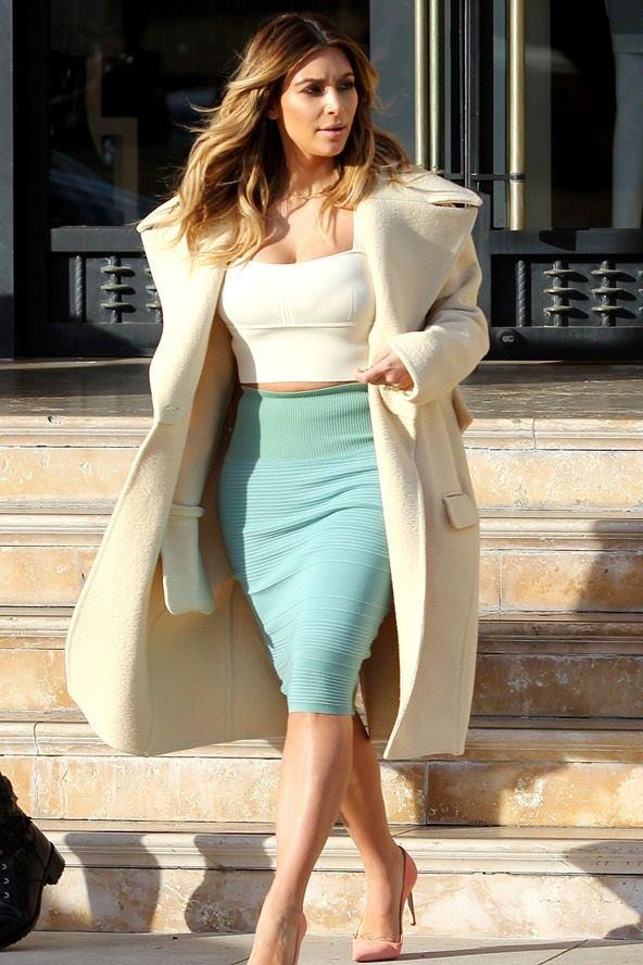 bayan uzun manto modelleri