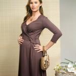 füme hamile elbise modeli