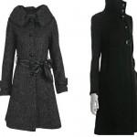 kışlık kaşe uzun bayan manto modelleri