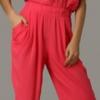 kırmızı bayan tulum elbise modeli 100x100 Bayan Tulum Elbise Modelleri