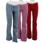 mavi pembe kırmızı bayan kot pantolon modelleri