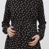 siyah desenli lcw hamile bluz modeli