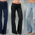 siyah trend mavi bayan kot pantolon modeli