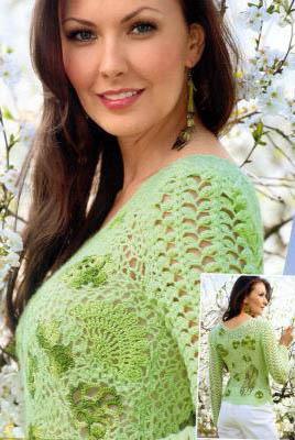 Baharlık Bayan Dantel Bluz Modelleri