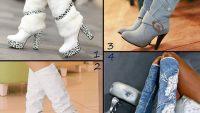 2013 Topuklu Bayan Çizme Modelleri