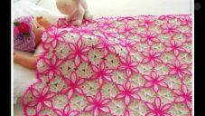 Motifli Bebek Battaniyesi Yapımı